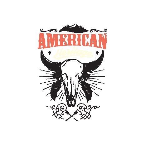 Tricou American heritage