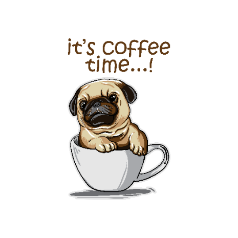 Tricou Its Coffee Time