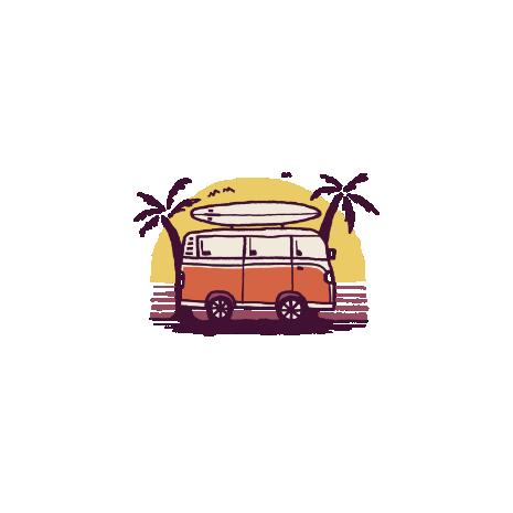 Tricou Sunset Van