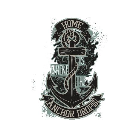 Tricou The anchor drops