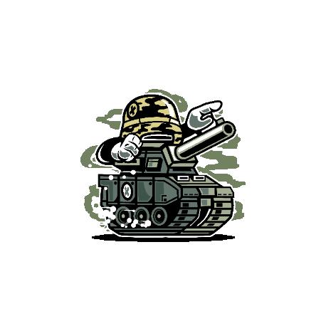 Tricou War Tank