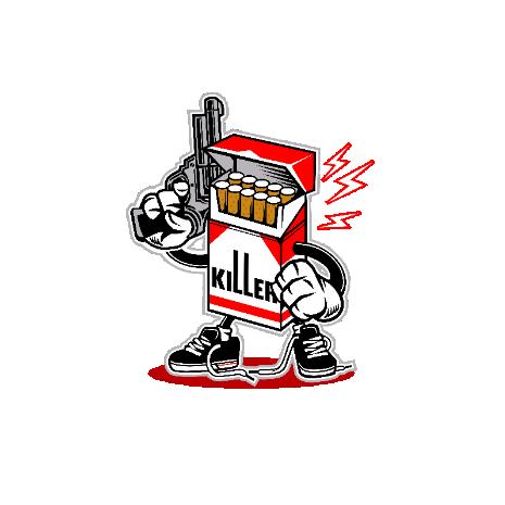 Tricou Cigarette Killer