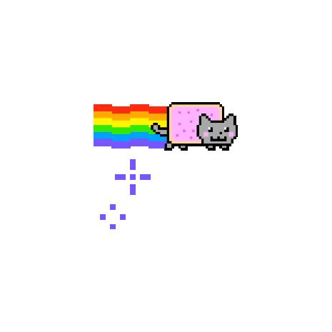 Tricou Nyan cat