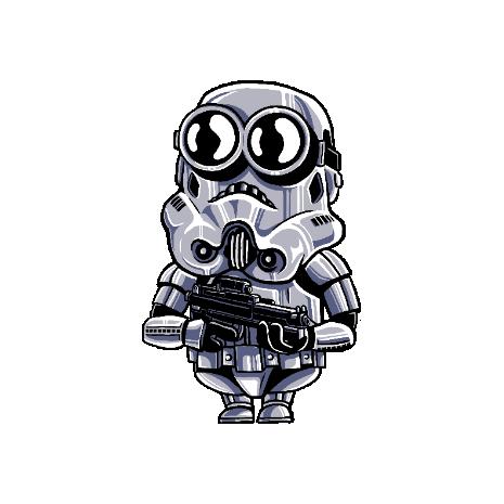 Tricou Minion trooper