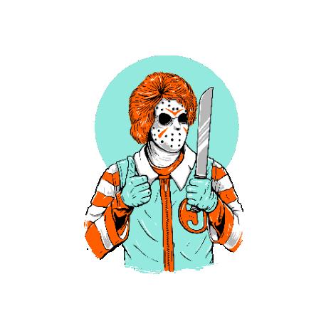 Tricou Clown killer