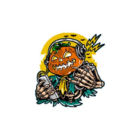 Tricou Pumpkin Music