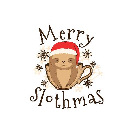 Tricou Merry slothmas