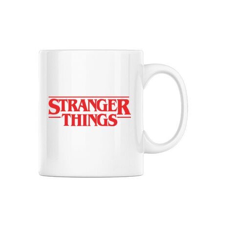 Cana personalizata Stranger things Alb