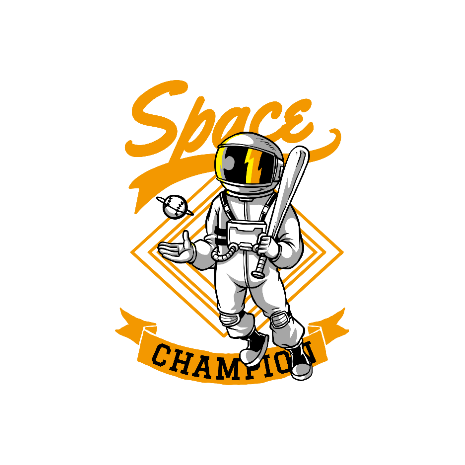 Tricou Space champion