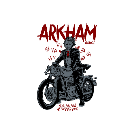 Tricou Arkham garage