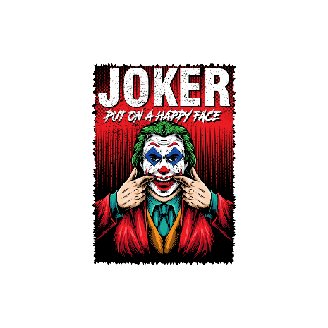 Tricou Joker happy face