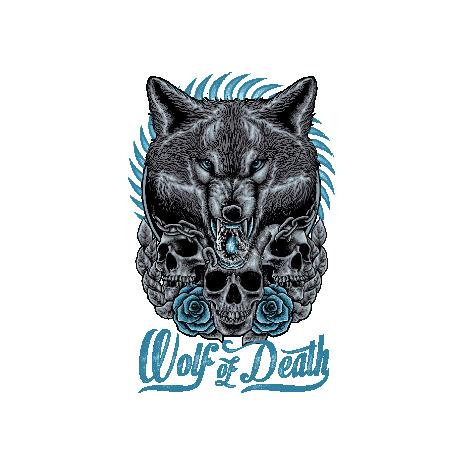Tricou Wolf of death