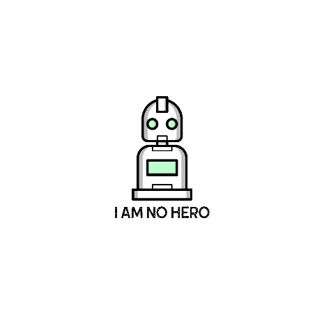Tricou I am no Hero