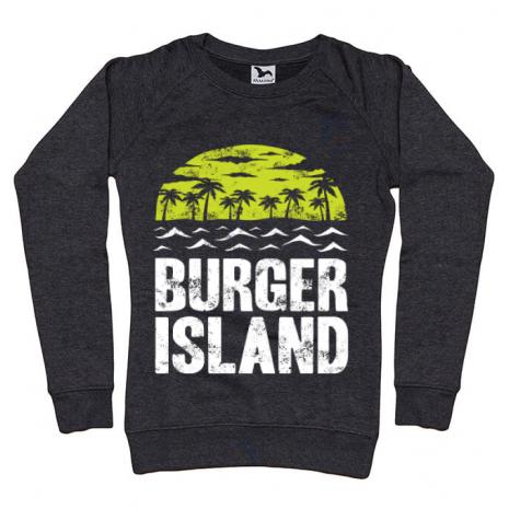 Bluza ADLER dama Burger island Negru melanj