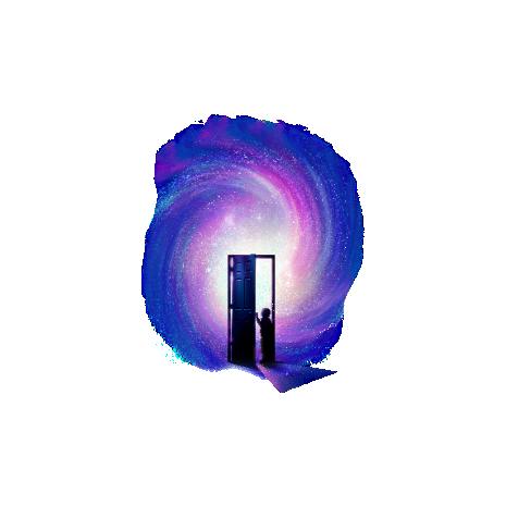 Tricou Doors to the future