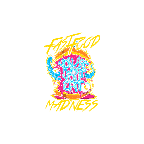 Tricou Fastfood madness