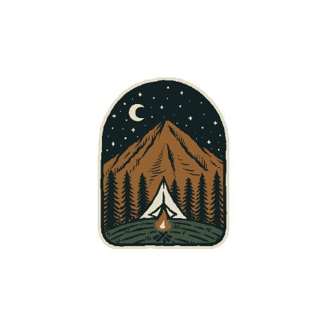 Tricou Camp mountain night