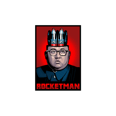 Tricou Rocketman