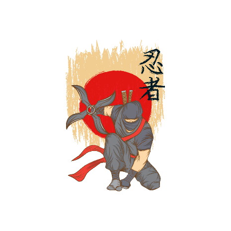Tricou Ninja Warrior
