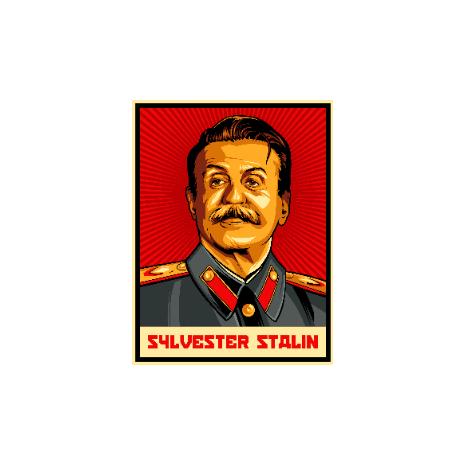 Tricou Sylvester Stalin