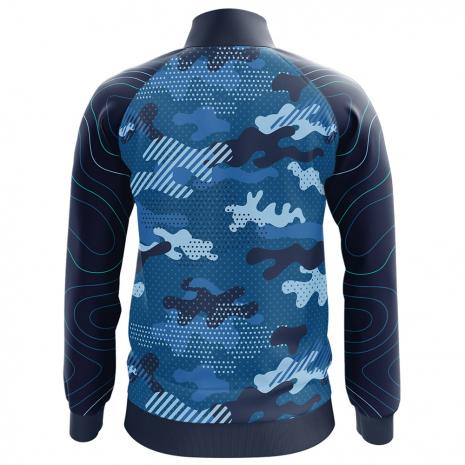Bluza de trening barbati Blue Army