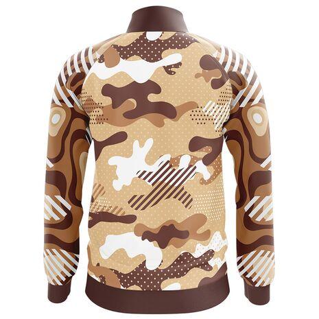 Bluza de trening barbati Brown Army