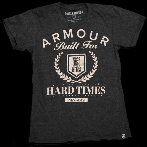 armour built for hard times