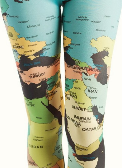 print pantaloni