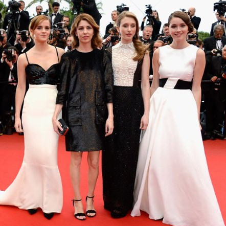 Emma Watson, Sofia Coppola, Taissa Farmiga and Katie Chang