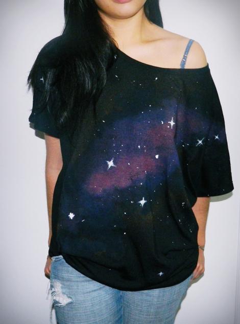 Tricou galaxy