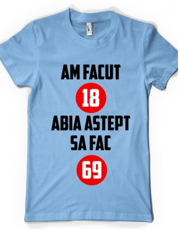 AM FACUT 18 ANI
