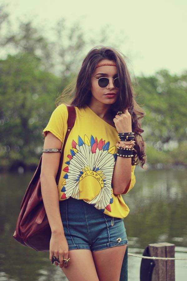 hippie inspired tshirt