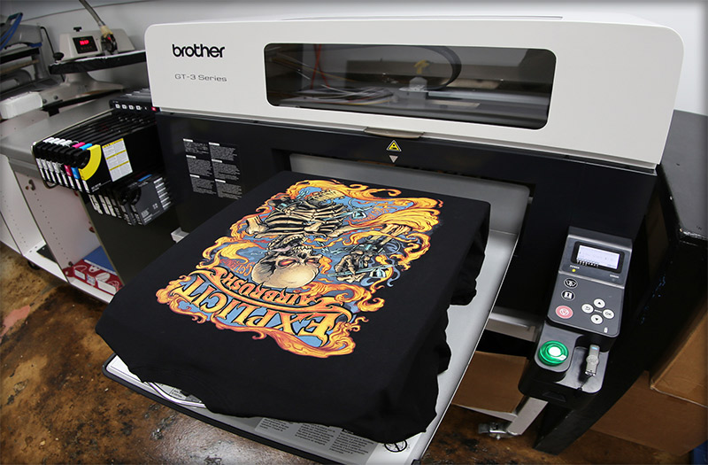 personalizari tricouri dtg