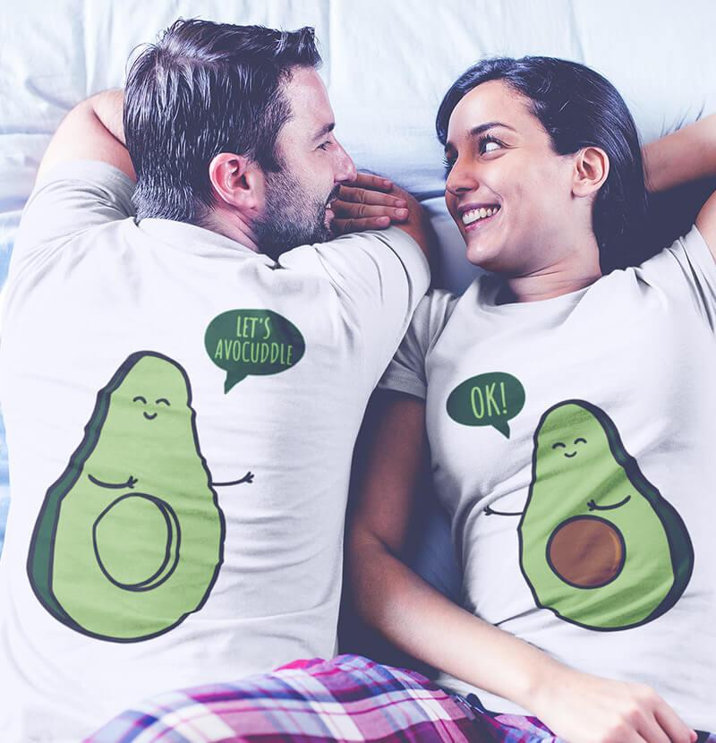 tricouri de cuplu la moda